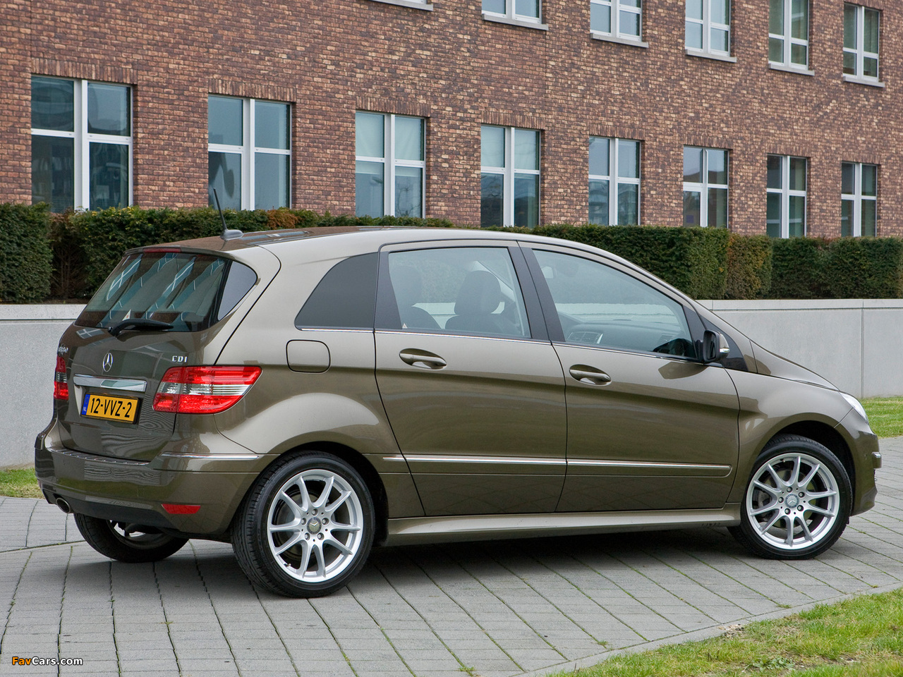 Wallpapers of Mercedes-Benz B 180 CDI (W245) 2008–11 (1280x960)