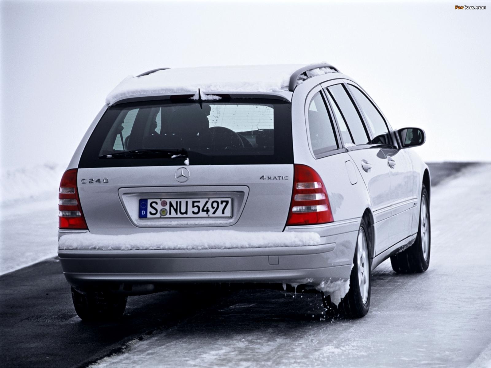 Images of mercedes benz c 240 estate s203 2001 05 for Mercedes benz c 240