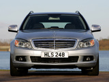 Images of Mercedes-Benz C 180 Kompressor Estate UK-spec (S204) 2008–11
