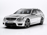 Images of Mercedes-Benz C 63 AMG Estate (S204) 2011