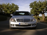 Mercedes-Benz C 350 (W204) 2007–11 wallpapers
