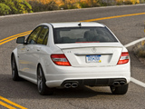Mercedes-Benz C 63 AMG US-spec (W204) 2007–11 wallpapers