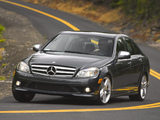 Mercedes-Benz C 350 Sport US-spec (W204) 2008–11 photos