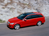 Mercedes-Benz C 350 Estate (S204) 2008–11 wallpapers