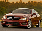 Mercedes-Benz C 350 Coupe US-spec (C204) 2011 images