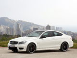 Mercedes-Benz C 63 AMG Coupe (C204) 2011 pictures