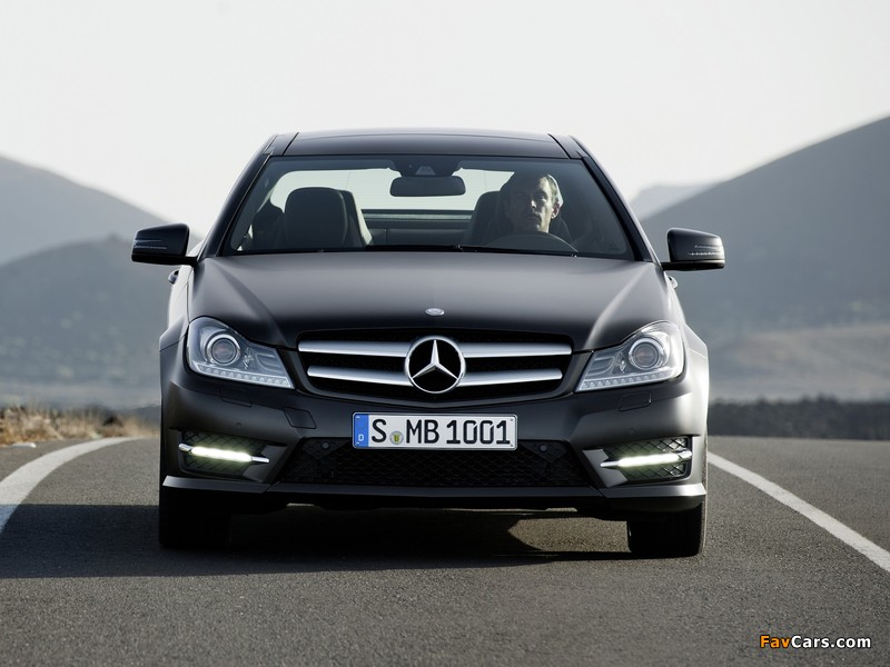 Mercedes benz c 250 cdi coupe c204 2011 pictures 800x600 for Mercedes benz c 600
