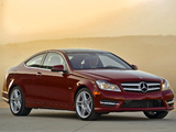 Mercedes-Benz C 350 Coupe US-spec (C204) 2011 wallpapers