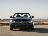 Mercedes-Benz C 300 4MATIC Cabriolet AMG Line North America (C205) 2016 images