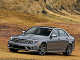 Photos of Mercedes-Benz C 63 AMG US-spec (W204) 2007–11