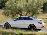 Photos of Mercedes-Benz C 63 AMG Coupe (C204) 2011