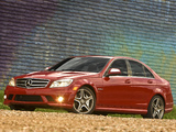 Pictures of Mercedes-Benz C 63 AMG US-spec (W204) 2007–11
