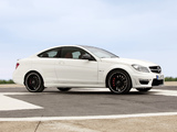 Pictures of Mercedes-Benz C 63 AMG Coupe (C204) 2011