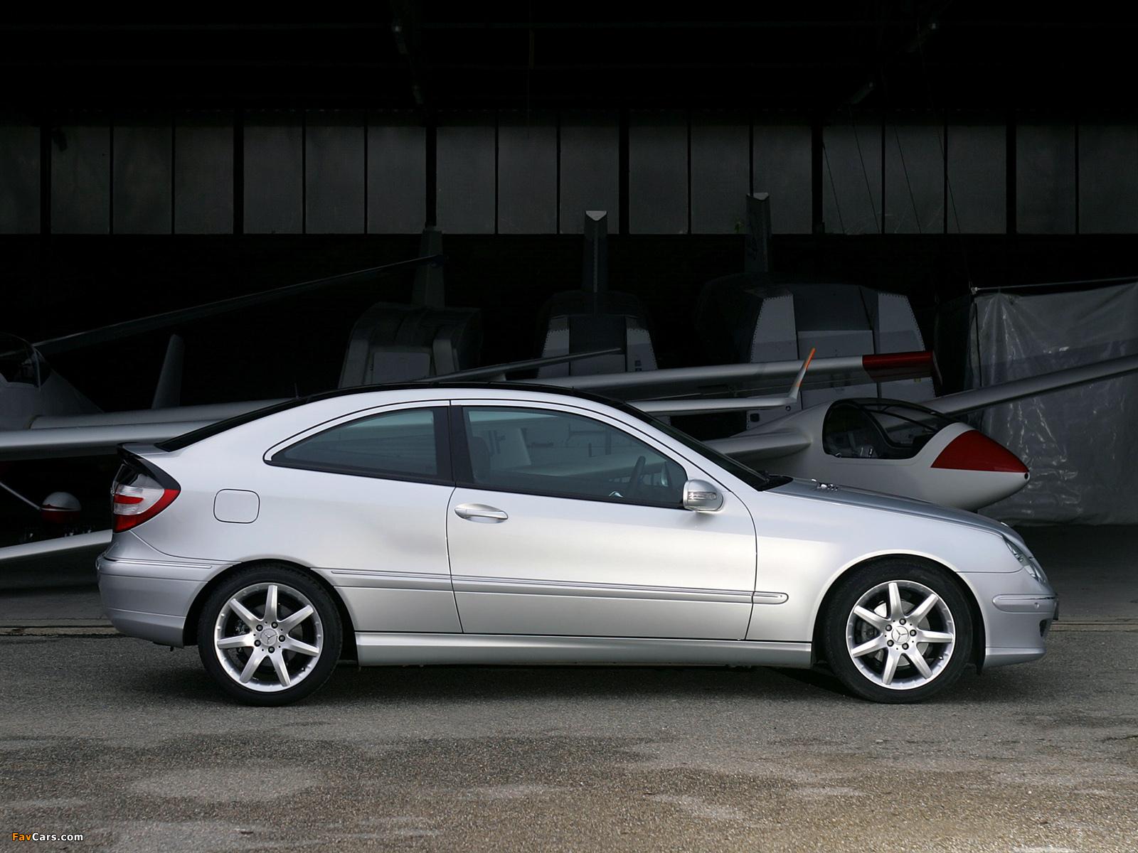 Wallpapers of mercedes benz c 180 kompressor sportcoupe for Mercedes benz kompressor 2005