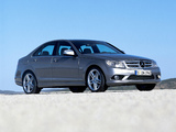 Mercedes-Benz C 320 CDI Sport (W204) 2007–11 wallpapers