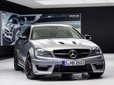 Mercedes-Benz C 63 AMG Coupe Edition 507 (C204) 2013 wallpapers