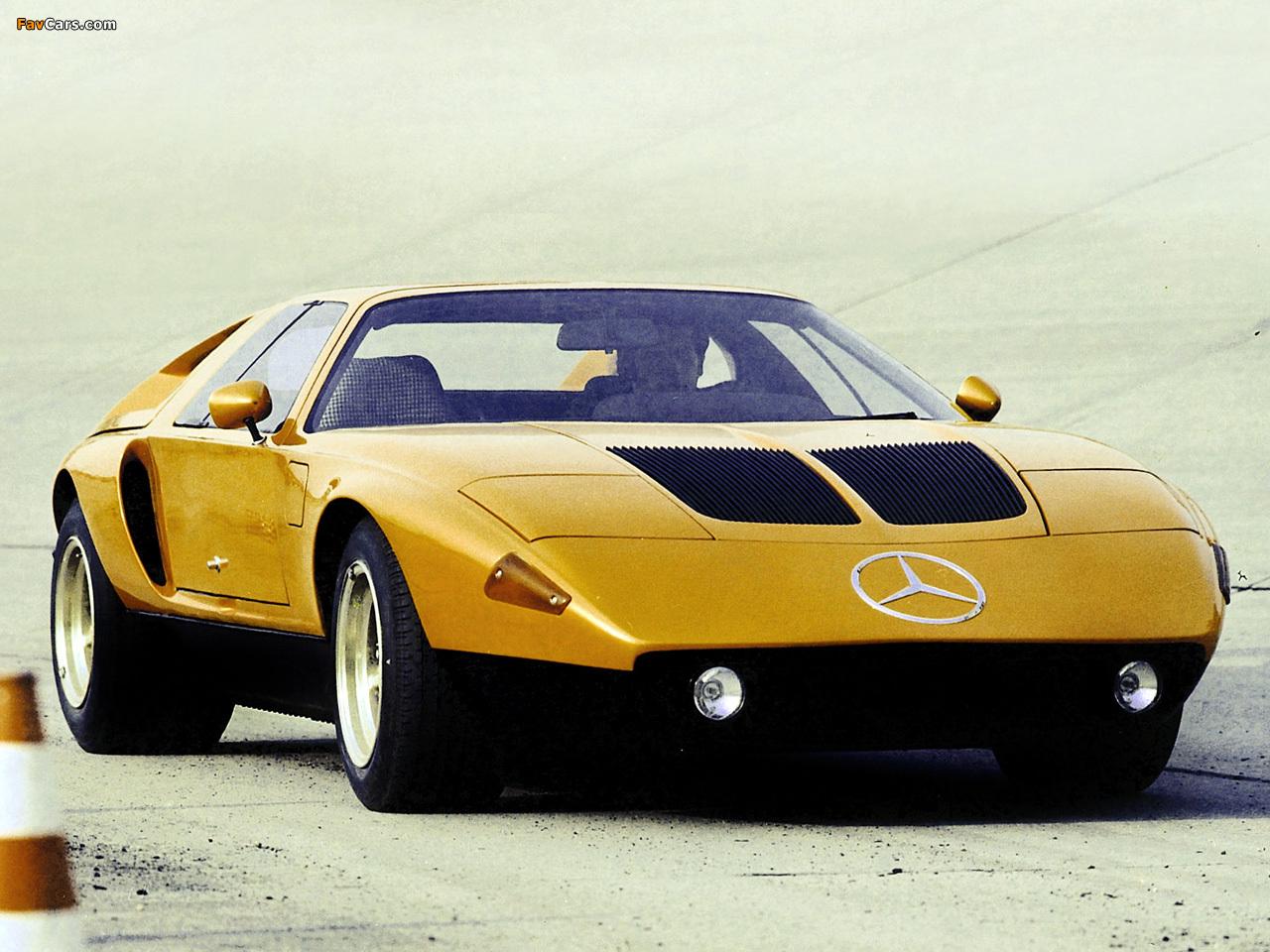 Mercedes-Benz C111-II D Concept 1976 photos (1280x960)