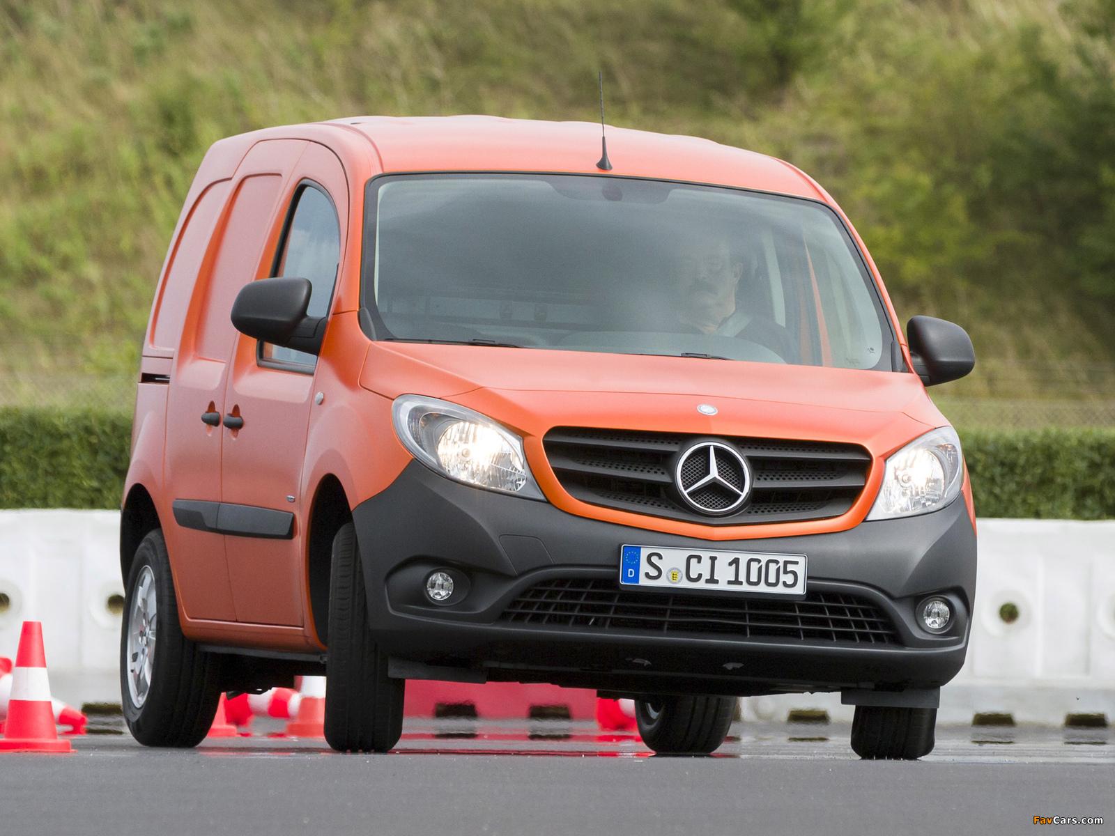 Mercedes benz citan panel van 2012 images 1600x1200 for Mercedes benz panel van