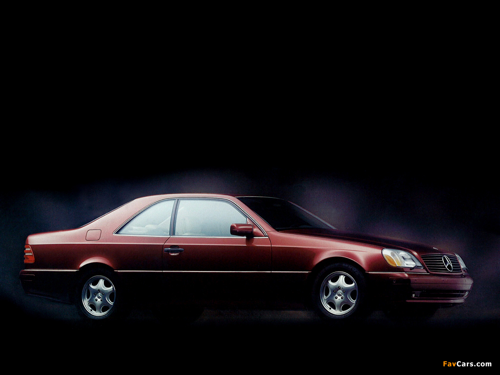 Images of mercedes benz s 500 coupe c140 1993 97 1024x768 for 97 mercedes benz