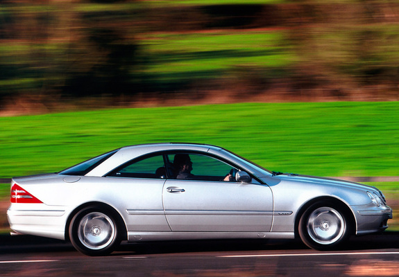 Photos Of Mercedes Benz CL 600 UK Spec C215 19992002