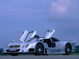 Mercedes-Benz CLK GTR AMG Road Version 1999 wallpapers