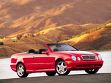 Images of Mercedes-Benz CLK 430 Cabrio US-spec (A208) 1998–2002