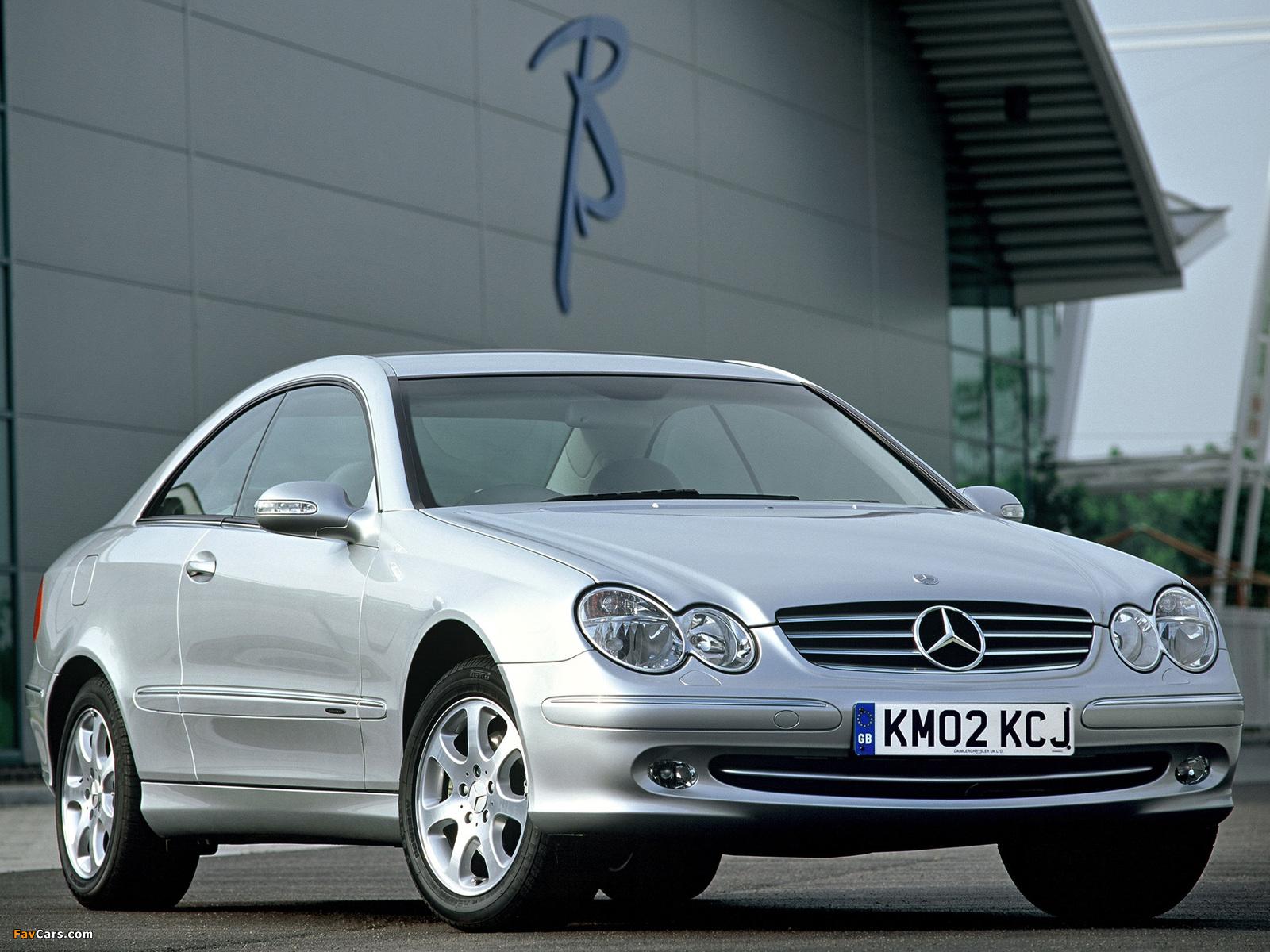 Mercedes benz clk 240 uk spec c209 2002 05 photos for Mercedes benz clk 240
