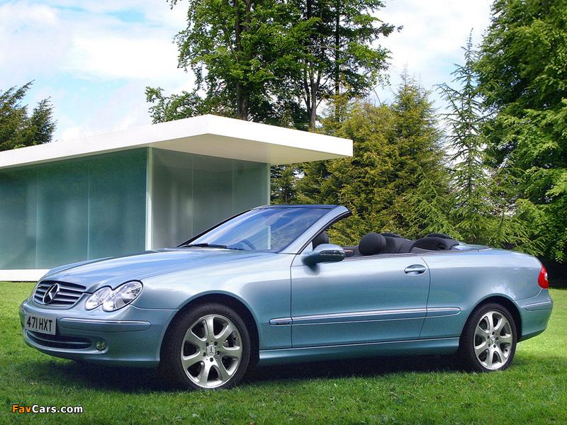 Mercedes benz clk 240 cabrio uk spec a209 2003 05 images for Mercedes benz clk 240