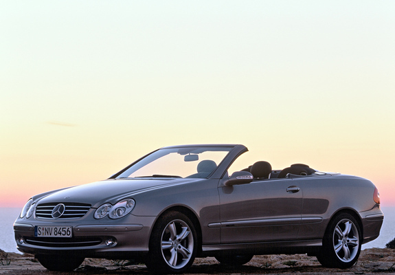 Mercedes Benz Clk 500 Cabrio A209 2003 05 Wallpapers