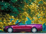 Photos of Mercedes-Benz CLK-Klasse Cabrio (A208) 1998–2002