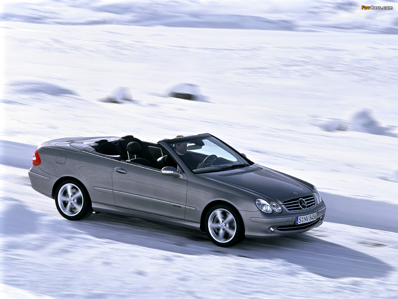 Pictures Of Mercedes Benz Clk 500 Cabrio A209 2003 05