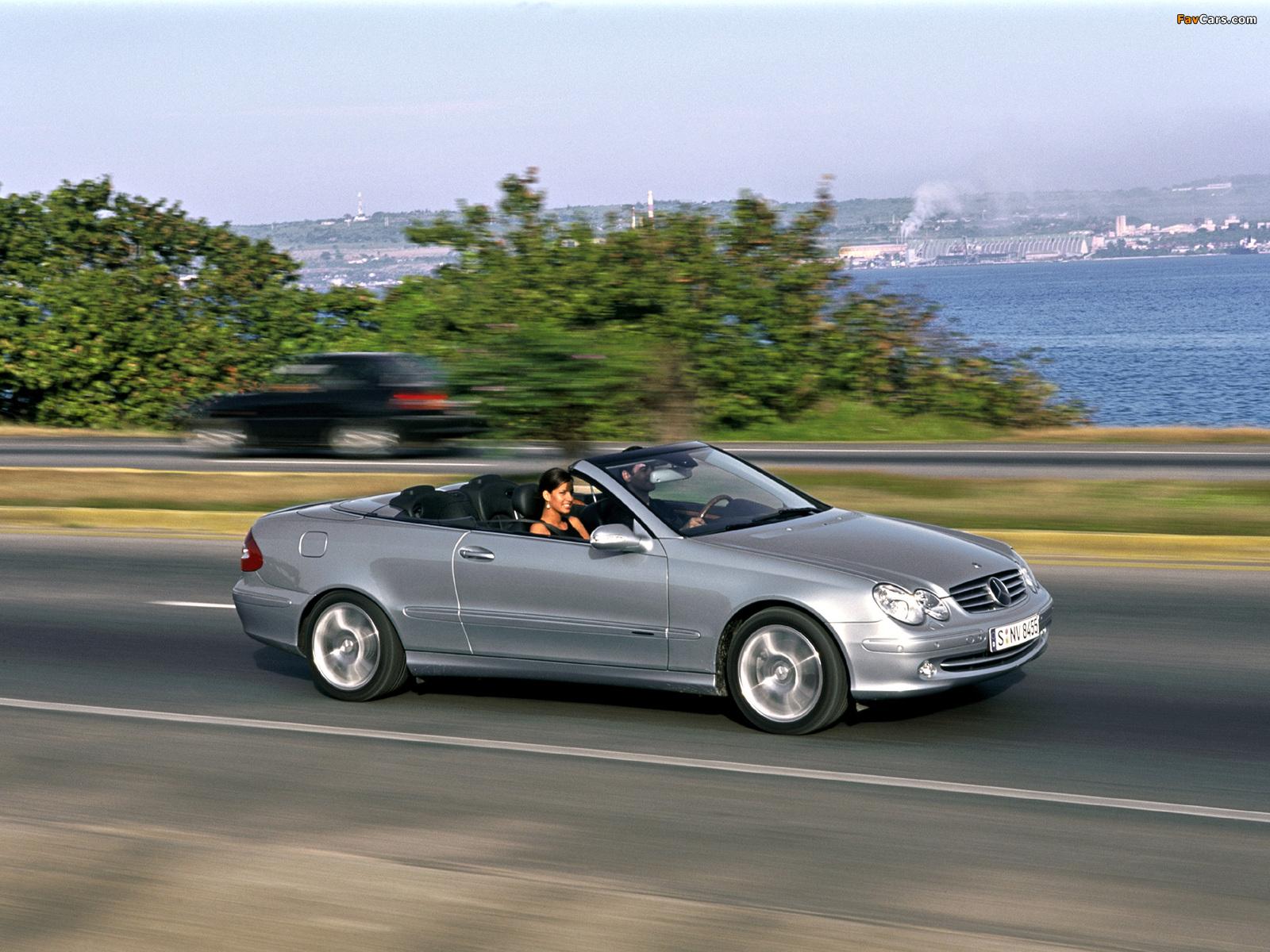 Pictures of mercedes benz clk 240 cabrio a209 2003 05 for Mercedes benz clk 240