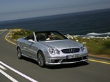 Pictures of Mercedes-Benz CLK 63 AMG Cabrio (A209) 2006–10