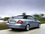 Mercedes-Benz CLK 240 Cabrio (A209) 2003–05 wallpapers