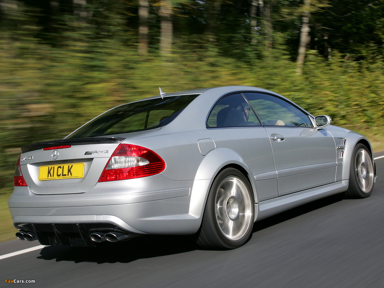 Wallpapers Of Mercedes Benz Clk 63 Amg Black Series Uk