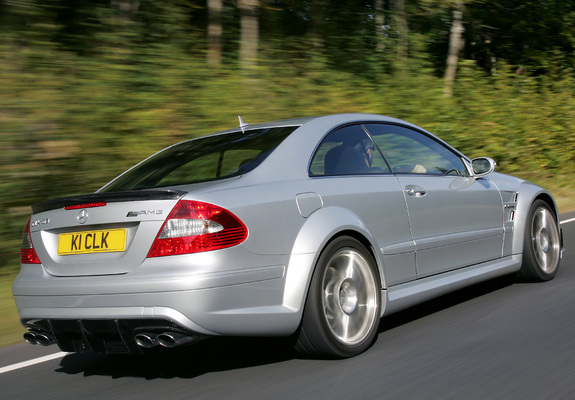 Wallpapers of mercedes benz clk 63 amg black series uk for 2007 mercedes benz clk