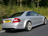 Mercedes-Benz CLK 63 AMG Black Series UK-spec (C209) 2007–09 wallpapers