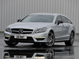 Mercedes-Benz CLS 63 AMG Shooting Brake UK-spec (X218) 2012 pictures