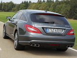 Photos of Mercedes-Benz CLS 63 AMG Shooting Brake (X218) 2012