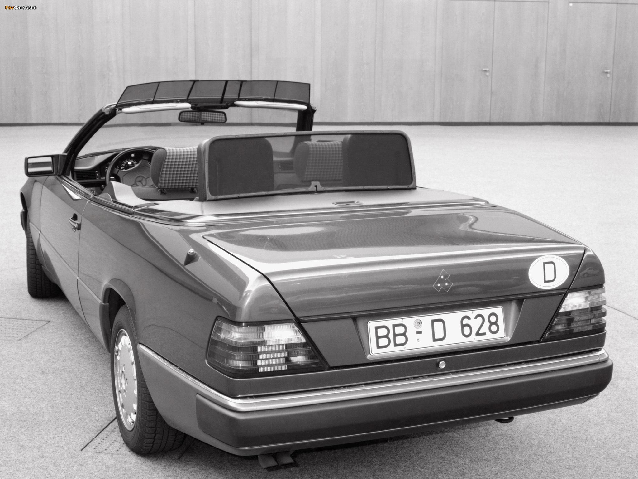 Mercedes Benz E Klasse Cabrio A124 1991 98 Photos