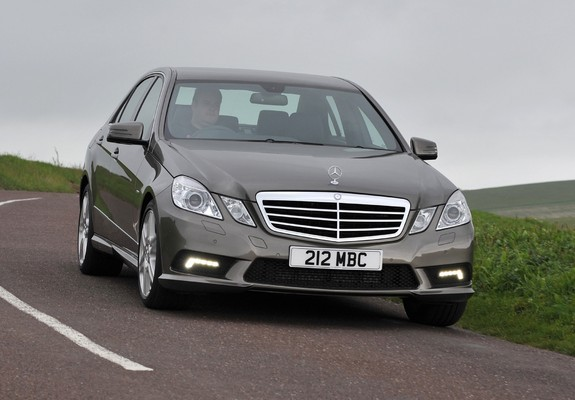 mercedes benz e 220 cdi amg sports package uk spec w212 2009 12 images. Black Bedroom Furniture Sets. Home Design Ideas