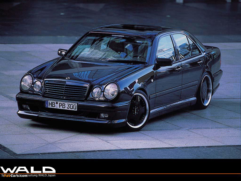 Wald Mercedes Benz E Klasse W210 1995 Wallpapers 1024x768