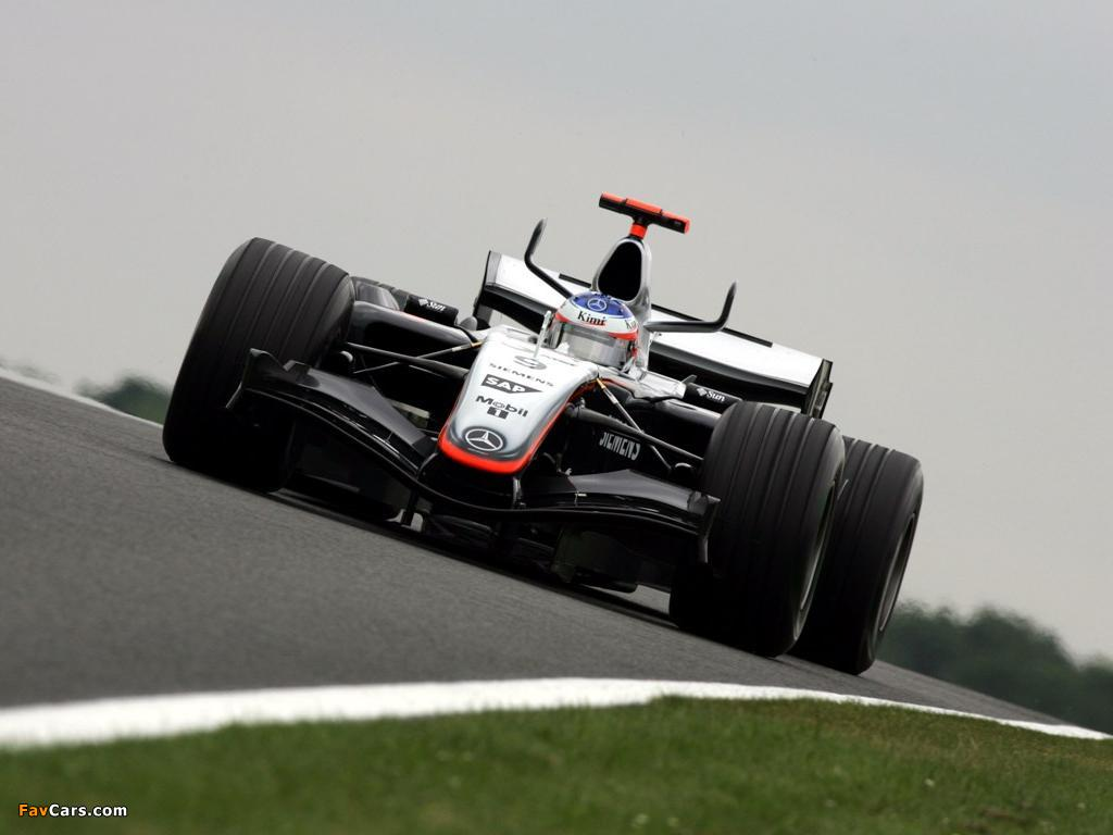 Mclaren X 1 >> McLaren Mercedes-Benz MP4-20 2005 pictures (1024x768)