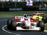 McLaren Mercedes-Benz MP4-11 1996 wallpapers