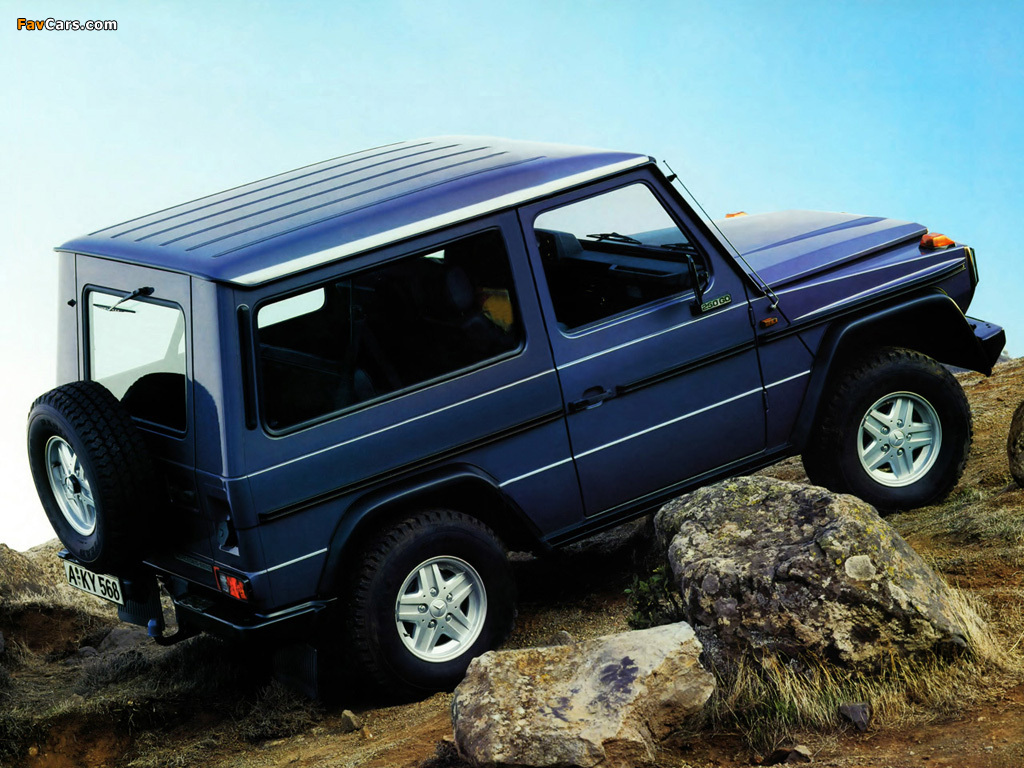 Mercedes Benz >> Images of Mercedes-Benz 250 GD SWB (W460) 1987–90 (1024x768)