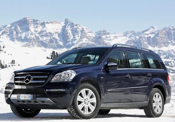 Mercedes-Benz GL 350 BlueTec (X164) 2009–12 photos (1600x1200)