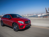 Mercedes-Benz GLE 450 AMG 4MATIC Coupé US-spec 2015 pictures