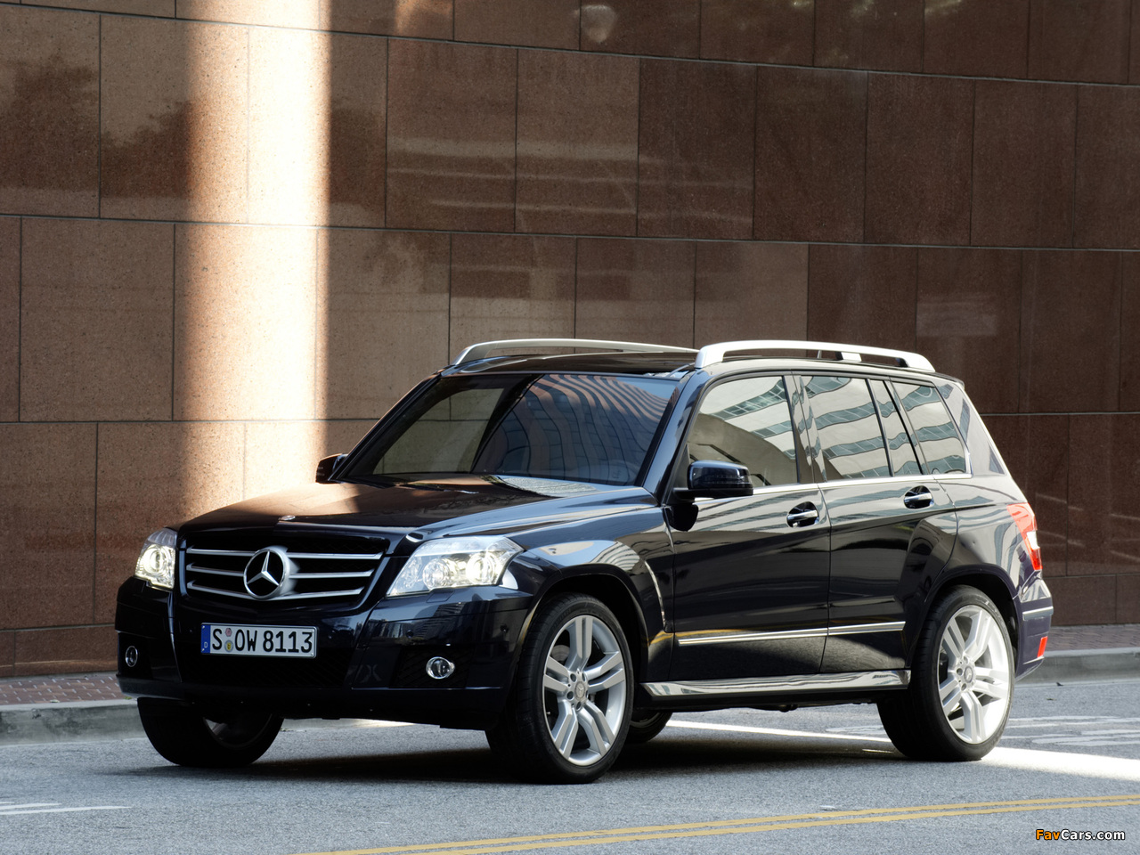 Mercedes benz glk 350 sports package x204 2008 12 for Mercedes benz glk 2008