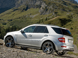 Mercedes-Benz ML 63 AMG 10th Anniversary (W164) 2009 wallpapers