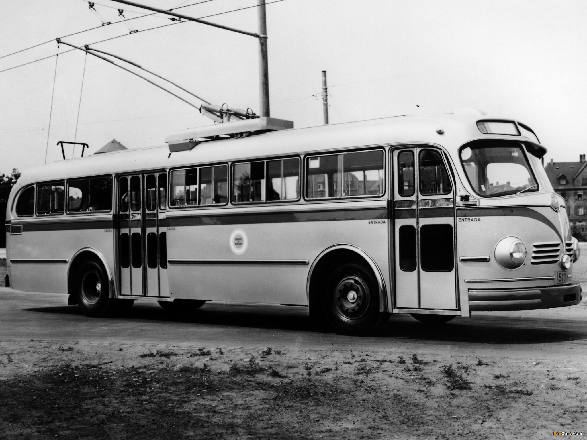 Pictures Of Mercedes Benz O6600 H Trolley Bus 1951 61